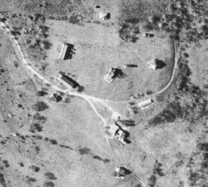 A 1934 aerial view of Camp Columbia.  Courtesy of the State of Connecticut.