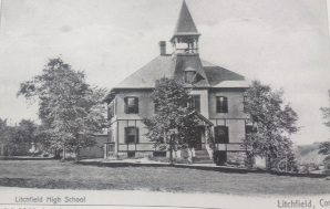 Litchfield High School, on East Street.