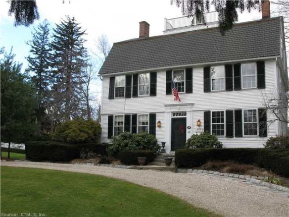 A modern view of Dr. Buel's house.