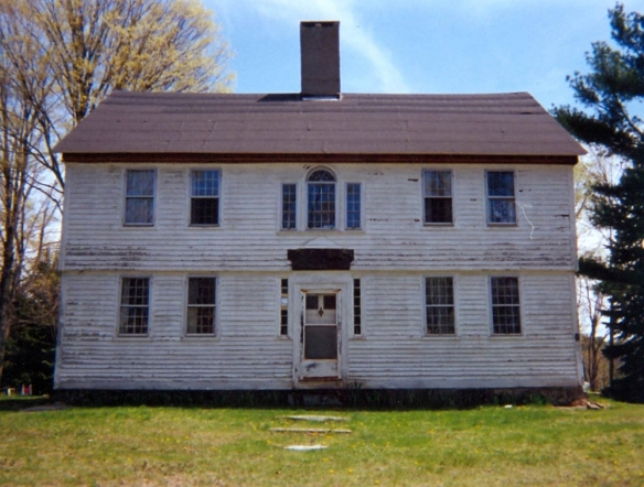 Isaiah Tuttle House, on Torringford Street, Torrington. Courtesy of Connecticut Freedom Trail