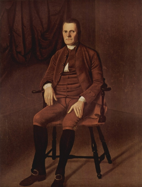 Roger Sherman, a one-time resident of New Milford, played a prominent role at the Constitutional Convention.
