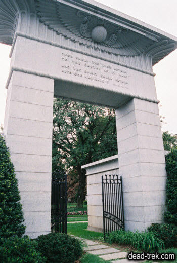 Memorial to the men who died during the U.S. Ex Ex in Mount Auburn Cemetery, Cambridge, MA. Courtesy of findagrave.com