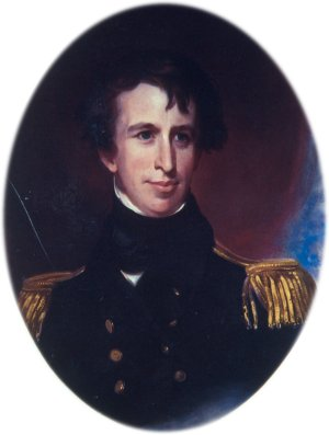 Captain Charles Wilkes, commander of the United States Exploring Expedition